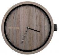 Aarikka Aikapuu-kello iso ruskea