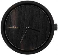 Aarikka Aikapuu-kello iso musta