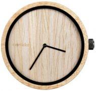 Aarikka Aikapuu-kello iso beige