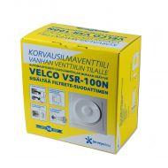 Terveysilma Korvausilmaventtiili VSR-100N 8841002 Velco