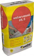 Weber muurauslaasti ML 5 Nattas 150 25 kg