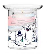 Muumi Muurla kynttilälyhty Talvi 10 cm