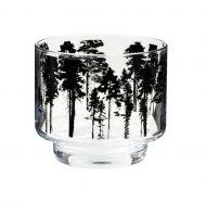 Muurla Nordic kynttilälyhty/kulho Metsä 8 cm