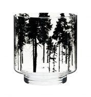 Muurla Nordic kynttilälyhty/maljakko Metsä 17 cm