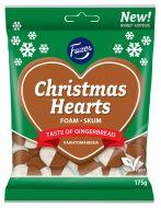 Fazer Christmas Hearts vaahtomakeinen 175 g