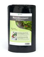 Tarha Mansikkamuovi 20 m2 musta 70 mm