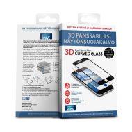 Wave Panssarilasi 3D iPhone 7 plus valkea kehys