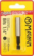 """Magnum Magneettipidin Bits 1/4"""" 60mm"""