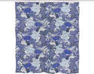 Vallila suihkuverho Napolinlahti 180x200 cm sininen