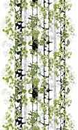 Vallila metrikangas Lehtipuut 150 cm vihreä