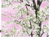 Vallila tabletti Omenapuu 42x32 cm pinkki