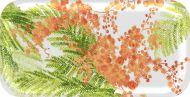 Vallila tarjotin Mimosa 27x13 cm oranssi
