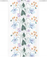 Vallila Metsäkukkia valmisverho 140x240 cm lila