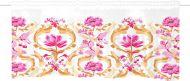 Vallila kappaverho Kirsikkalintu 60x250 cm roosa