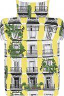 Vallila pussilakanasetti Madrid 150x210 cm keltainen