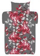 Vallila pussilakanasetti Sorrento 150x210 punainen/harmaa
