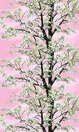 Vallila Omenapuu metrikangas 150 cm pinkki