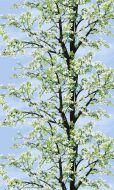 Vallila Omenapuu vahakangas 145 cm sininen