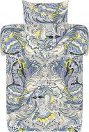 Vallila pussilakanasetti Parade 150x210 cm sini/beige