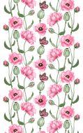 Vallila Monarkki vahakangas 145 cm pinkki