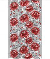 Vallila Ruskamarja valmisverho 140x240 cm punainen