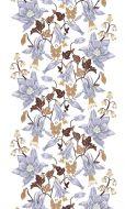 Vallila Maria valmisverho 140x250 cm lila