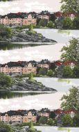 Vallila Kaivarinranta valmisverho 140x250 cm vihreä