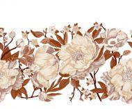 Vallila Rakkaustarina kappaverho 60x250 cm terra