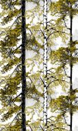 Vallila Retriitti valmisverho 140x250 cm vihreä