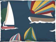 Vallila Regatta tyynyliina 50x60 cm sininen