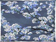 Vallila Omenapuu tyynyliina 50x60 cm sininen