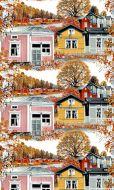 Vallila Kokkola valmisverho 140x250 cm roosa