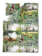 Vallila Mansikki pussilakanasetti 150x210 cm vihreä