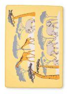 Vallila Norsumarssi matto 133x190 cm keltainen