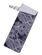 Vallila Map matto 80x300 cm sininen