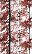 Vallila Retriitti metrikangas 150 cm punainen