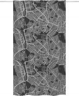 Vallila Map valmisverho 140x250 cm harmaa