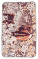 Vallila Mansikki matto 50x80 cm ruskea