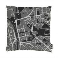 Vallila Vanha Turku tyynynpäällinen 43x43 cm mintunvihreä