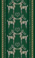 Vallila Olkipukki valmisverho 140x240 cm vihreä