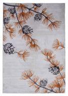 Vallila Metsän syli soft matto 200x300 cm ruoste