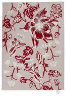 Vallila Maria effect matto 140x200 cm punainen