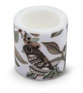 Vallila Lemmittyni kynttilä 8 cm beige