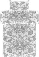 Vallila Syvämeri pussilakanasetti 150x210 cm valkoinen
