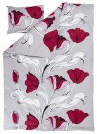 Vallila Kattoterassi pussilakanasetti 150x210 cm violetti