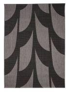 Vallila Siipi matto 133x190 cm musta