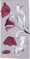Vallila pyyhe Kattoterassi 50x70 cm viininpunainen