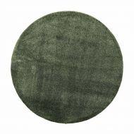 VM-Carpet Hattara 28 tummanvihreä Ø 200 cm