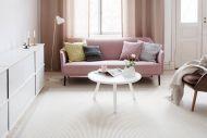VM-Carpet Tunturi 71 valkoinen, 133*200 cm, kantti 009 B