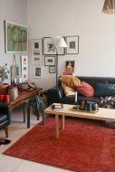 VM-Carpet Tessa 2167 oranssi, 160*230 cm, kantti 6136